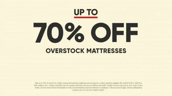 Mattress Firm Model Closeout Event TV Spot, 'Serta Memory Foam' - Thumbnail 3