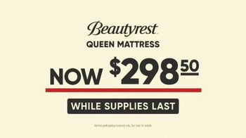 Mattress Firm Model Closeout Event TV Spot, 'Serta Memory Foam' - Thumbnail 6