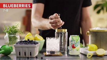 Diet 7UP TV Spot, 'Blueberry Smash' - Thumbnail 3