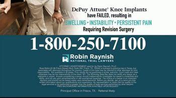 Robin Raynish Law TV Spot, 'Knee Implant Complications' - Thumbnail 5