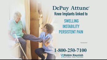 Robin Raynish Law TV Spot, 'Knee Implant Complications' - Thumbnail 3