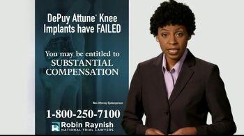 Robin Raynish Law TV Spot, 'Knee Implant Complications' - Thumbnail 4