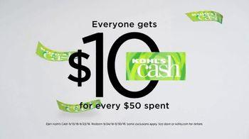 Kohl's Men's Fall Style Event TV Spot, 'Layer on the Savings' - Thumbnail 10