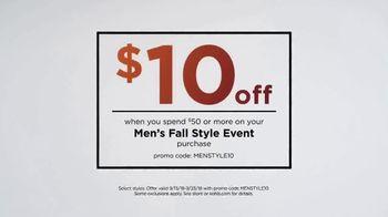 Kohl's Men's Fall Style Event TV Spot, 'Layer on the Savings' - Thumbnail 9