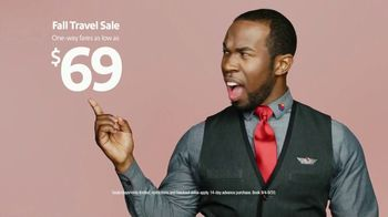 Southwest Airlines Fall Travel Sale TV Spot, 'Low Fares: September'