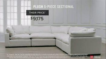 Value City Furniture TV Spot, 'Designer Looks. Big Difference: Plush' - Thumbnail 7