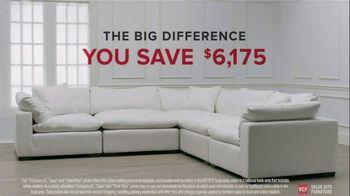 Value City Furniture TV Spot, 'Designer Looks. Big Difference: Plush' - Thumbnail 8