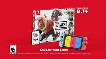 Nintendo Labo Vehicle Kit TV Spot, 'Make, Play and Discover' - Thumbnail 10