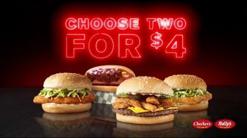 Checkers & Rally's 2 For Menu TV Spot, 'Whatever You Got in Your Wallet' - Thumbnail 4