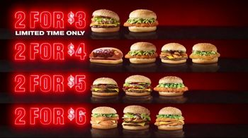 Checkers & Rally's 2 For Menu TV Spot, 'Whatever You Got in Your Wallet'
