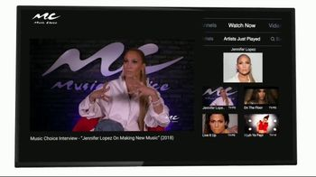 Music Choice TV App TV Spot, 'All in One Place' Featuring Jennifer Lopez - Thumbnail 5