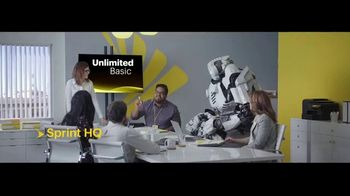 Sprint Unlimited Basic TV Spot, 'Rooftop: Five Lines for $24 a Month' - Thumbnail 1