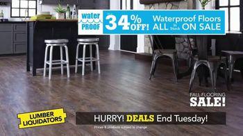 Lumber Liquidators Fall Flooring Sale TV Spot, 'Local Favorites' - Thumbnail 3