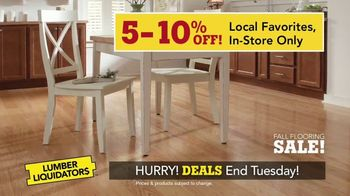 Lumber Liquidators Fall Flooring Sale TV Spot, 'Local Favorites' - Thumbnail 5