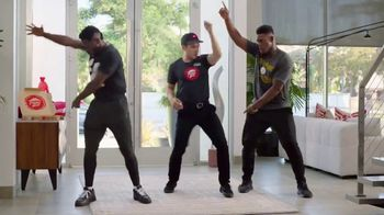 Pizza Hut TV Spot, 'Baile de la zona final' con Antonio Brown [Spanish]