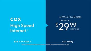 Cox High Speed Internet TV Spot, 'Laws of Moving' - Thumbnail 4