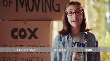 Cox High Speed Internet TV Spot, \'Laws of Moving\'