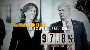 Democratic Congressional Campaign Committee TV Spot, 'Barbara Comstock' - Thumbnail 1