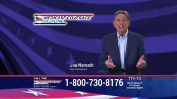 Medicare Coverage Helpline TV Spot, \'More Benefits\' Featuring Joe Namath