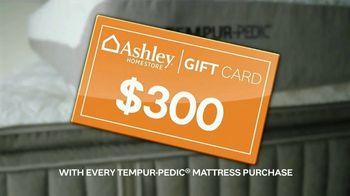 Ashley HomeStore TV Spot, 'Tempur-Pedic Mattress Offer'