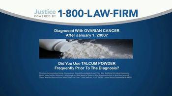 1-800-LAW-FIRM TV Spot, 'Talcum Powder' - Thumbnail 1