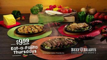 Beef 'O' Brady's TV Spot, 'Fajita Thursdays' - Thumbnail 6