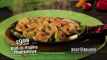 Beef 'O' Brady's TV Spot, 'Fajita Thursdays' - Thumbnail 7