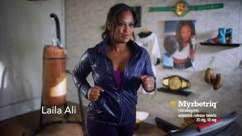Myrbetriq TV Spot, 'Dancing With the Stars Sweepstakes' Feat. Laila Ali