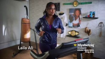 Myrbetriq TV Spot, 'Dancing With the Stars Sweepstakes' Feat. Laila Ali - Thumbnail 1
