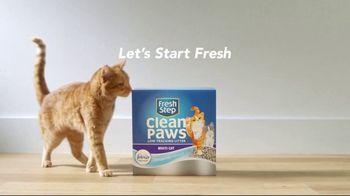 Fresh Step Clean Paws TV Spot, 'Cat on Glass' - Thumbnail 8