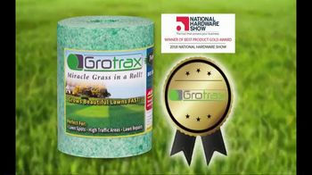Grotrax TV Spot, 'Amazing Grass Mat: 50-Square-Foot Roll' - Thumbnail 5