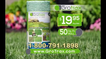 Grotrax TV Spot, 'Amazing Grass Mat: 50-Square-Foot Roll' - Thumbnail 9
