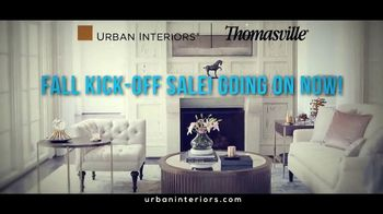 Urban Interiors & Thomasville Fall Kick-Off Sale TV Spot, 'Furniture' - Thumbnail 2