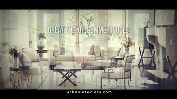 Urban Interiors & Thomasville Fall Kick-Off Sale TV Spot, 'Furniture'