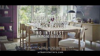 Urban Interiors & Thomasville Fall Kick-Off Sale TV Spot, 'Furniture' - Thumbnail 6