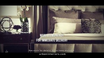 Urban Interiors & Thomasville Fall Kick-Off Sale TV Spot, 'Furniture' - Thumbnail 8