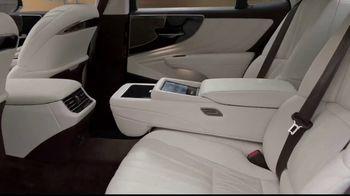 Lexus LS 500 TV Spot, 'Dimensions' [T1] - Thumbnail 3