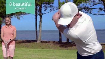 Florida's Emerald Coast TV Spot, 'Okaloosa Island: Golf Getaway' - Thumbnail 3