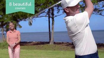 Florida's Emerald Coast TV Spot, 'Okaloosa Island: Golf Getaway' - Thumbnail 4