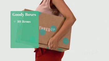 thredUP Goody Boxes TV Spot, 'Look Good and Save Big' - Thumbnail 7
