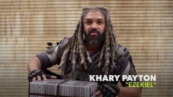 AMC The Walking Dead Supply Drop TV Spot, 'Ezekiel Unboxes Supplies' - Thumbnail 1