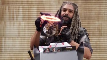 AMC The Walking Dead Supply Drop TV Spot, 'Ezekiel Unboxes Supplies'