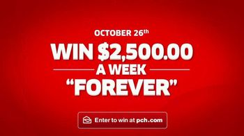 Publishers Clearing House TV Spot, '$2,500 a Week Forever: Last Chance' - Thumbnail 10