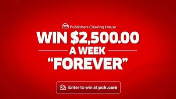 Publishers Clearing House TV Spot, '$2,500 a Week Forever: Last Chance' - Thumbnail 3