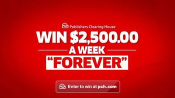 Publishers Clearing House TV Spot, '$2,500 a Week Forever: Last Chance' - Thumbnail 4