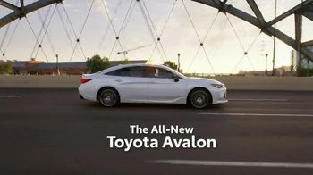 2019 Toyota Avalon TV Spot, 'Play Just Got Serious' [T1] - Thumbnail 2