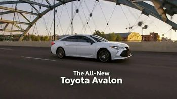 2019 Toyota Avalon TV Spot, 'Play Just Got Serious' [T1] - Thumbnail 3