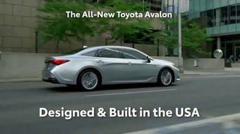 2019 Toyota Avalon TV Spot, 'Play Just Got Serious' [T1] - Thumbnail 4