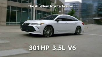 2019 Toyota Avalon TV Spot, 'Play Just Got Serious' [T1] - Thumbnail 5