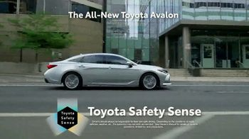 2019 Toyota Avalon TV Spot, 'Play Just Got Serious' [T1] - Thumbnail 7